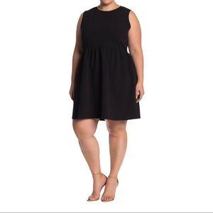 Joe Fresh Pebbled Fit & Flare Dress